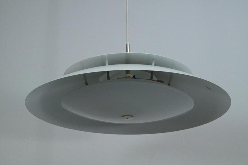 d nische lampe deckenlampe designleuchte h ngelampe riegens 60er midcentury nr 301737597264. Black Bedroom Furniture Sets. Home Design Ideas