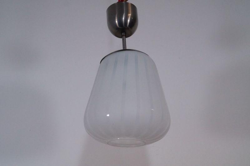 bauhaus deckenlampe h ngelampe wagenfeld ra glas weiss mit mus. Black Bedroom Furniture Sets. Home Design Ideas
