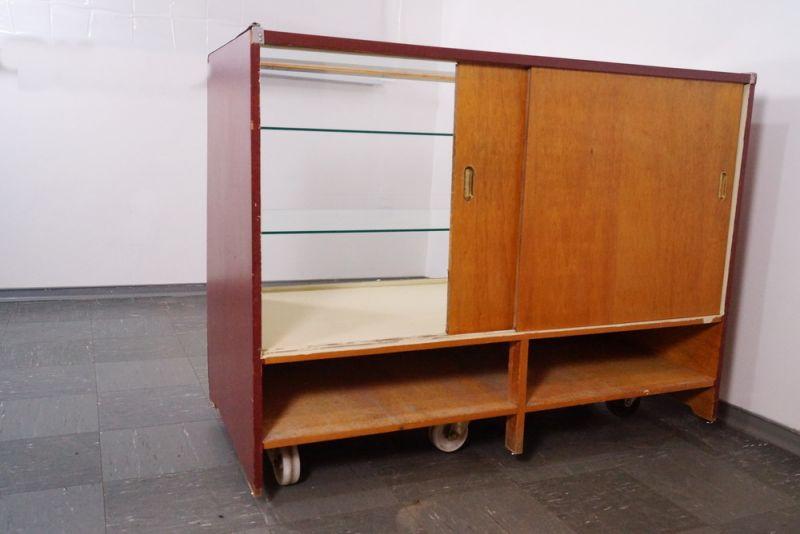 verkaufstheke verkaufs vitrine tresen glas schiebet ren. Black Bedroom Furniture Sets. Home Design Ideas