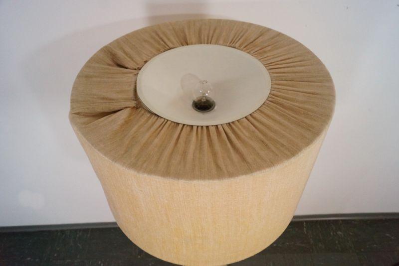 midcentury stehlampe bodenlampe chrom staff modern design textil. Black Bedroom Furniture Sets. Home Design Ideas