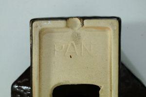 Set  4x Wandlampe Keramiklampe PAN Leuchten Vintage 70er 80er 8