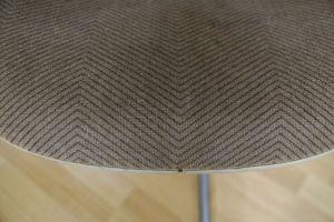 Tandem Sitzbank 4x Fiberglas Sidechair Charles Eames für Herman Miller 60er Jahre 3