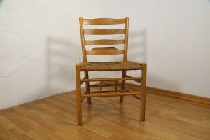 Kirchenstuhl Stuhl von Kaare Klint für Fritz Hansen, Dänemark mit Papercord | 88x vorhanden 0