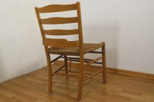 Kirchenstuhl Stuhl von Kaare Klint für Fritz Hansen, Dänemark mit Papercord | 88x vorhanden 2