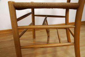 Kirchenstuhl Stuhl von Kaare Klint für Fritz Hansen, Dänemark mit Papercord | 88x vorhanden 6