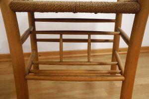 Kirchenstuhl Stuhl von Kaare Klint für Fritz Hansen, Dänemark mit Papercord | 88x vorhanden 7