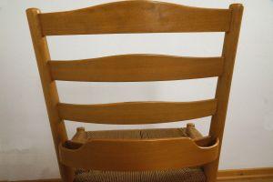 Kirchenstuhl Stuhl von Kaare Klint für Fritz Hansen, Dänemark mit Papercord | 88x vorhanden 8