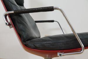 Highback Sessel, Loungechair Preben Fabricius für Knoll FK 86 60er Jahre 5