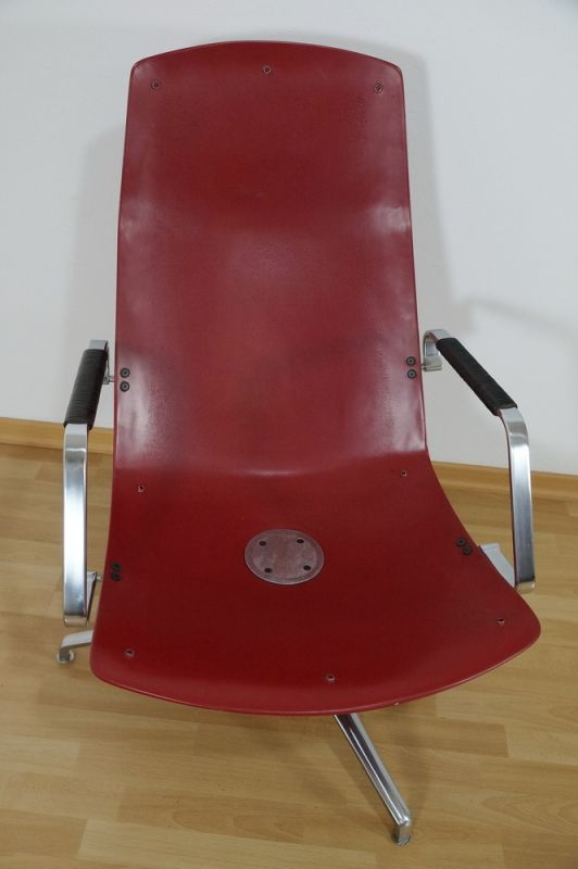 Highback Sessel, Loungechair Preben Fabricius für Knoll FK 86 60er Jahre 6
