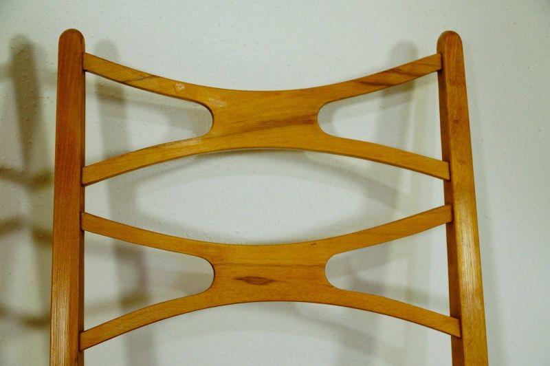 2x Stuhl Stühle Esszimmer Danish Design Buche Vintage Mid Century Ära 60er  70er 3