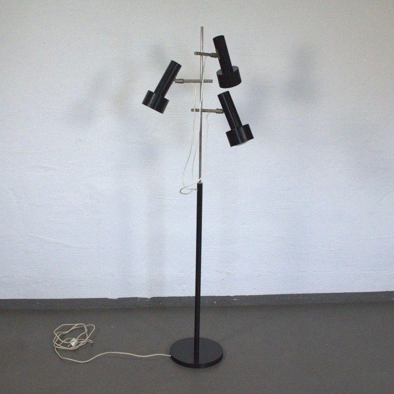 Vintage Stehlampe Leselampe 3 Lichter Lampe Leuchte Midcentury Modern 70er 60er
