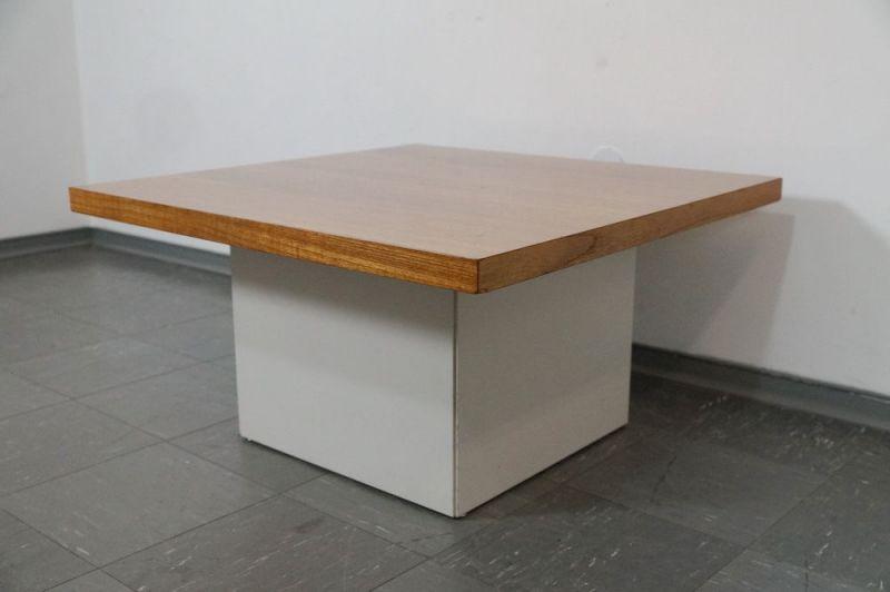 60er Jahre Design Couchtisch Coffee Table von COR Lübke Nussbaum Vintage 70er 2