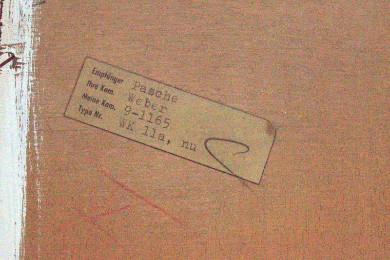 Vintage Nussbaum Regal Georg Satink für WK Möbel Bücherregal #2 WK Wohnen 50er 5