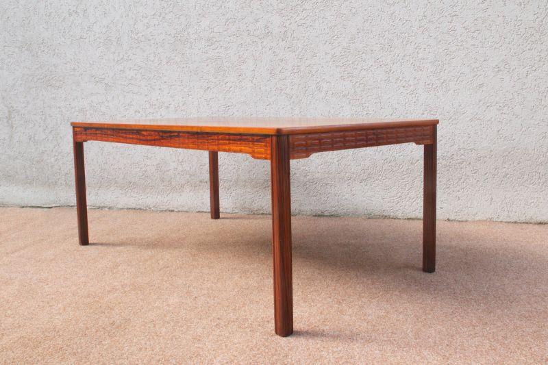 Vintage Couchtisch Coffeetable Rosewood Zebrano Sweden Tisch Danish Design 60er 1