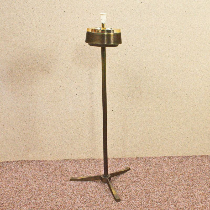 Standascher Standaschenbecher Vintage Aschenbecher Messing Dreifuß 50er 60er