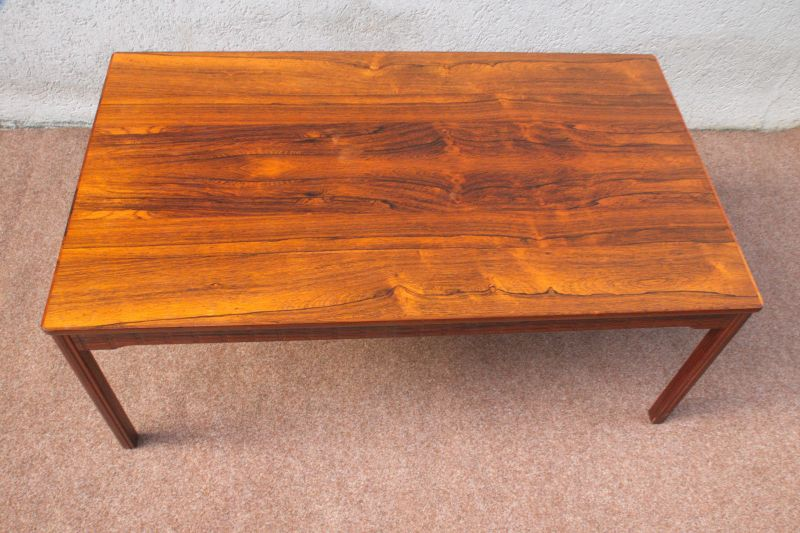vintage couchtisch coffeetable rosewood zebrano sweden tisch danish design 60er nr 302613835998. Black Bedroom Furniture Sets. Home Design Ideas