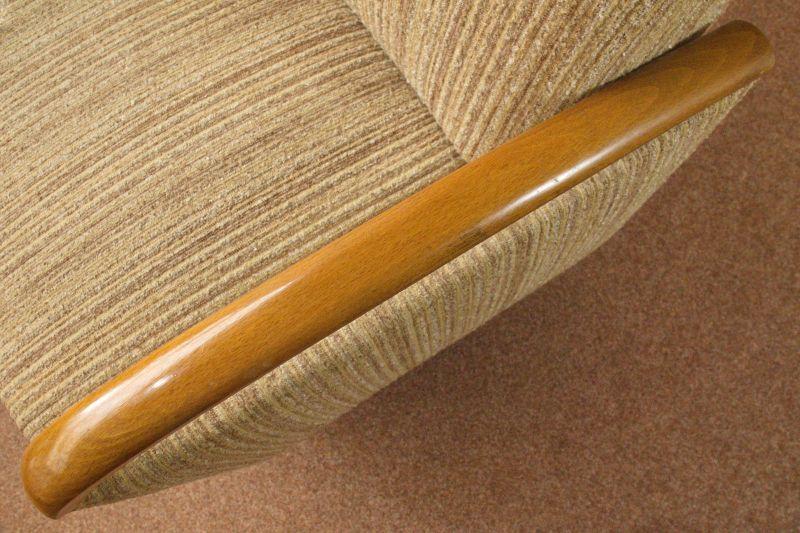 Daybed Schlafsofa Mid Century Danish Design Kirschholz Vintage Sofa 60er Jahre 4