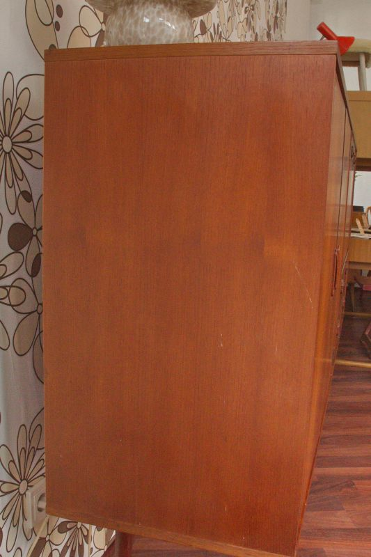 Mid Century Teak Sideboard MUSTERRING Danish Design Anrichte Buffet 60er Jahre 2