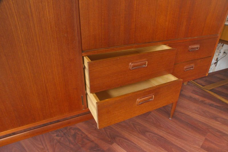 Mid Century Teak Sideboard MUSTERRING Danish Design Anrichte Buffet 60er Jahre 5