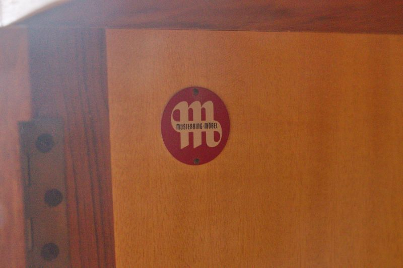 Mid Century Teak Sideboard MUSTERRING Danish Design Anrichte Buffet 60er Jahre 8