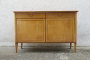 Vintage kleines Sideboard Anrichte Schrank Kirschbaum 50er 60er