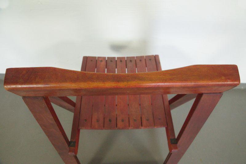 Vintage Faltstuhl, Klappstuhl von Aldo Jacober/ 60er Jahre Designstuhl 8