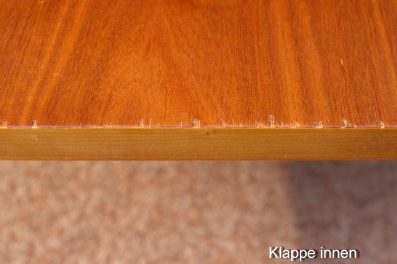 Vintage Kommode Kirsche Furnier Nachttisch 50er 60er 1x vorhanden 6