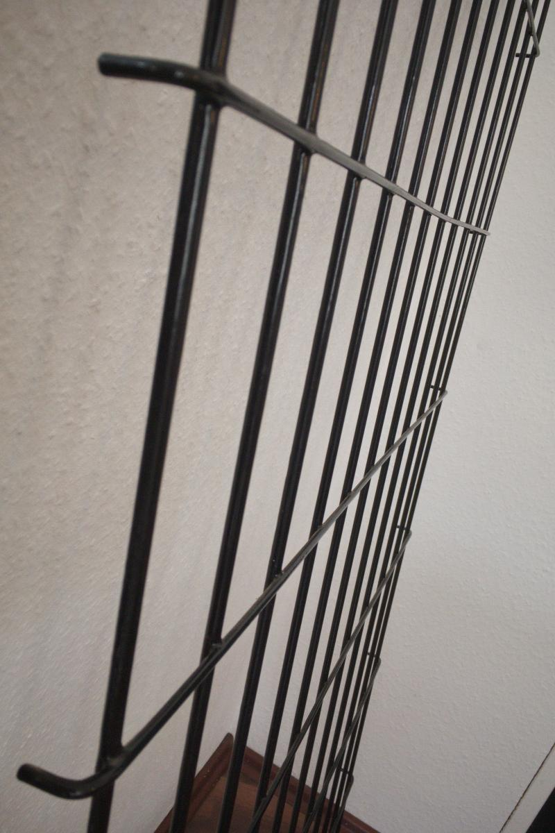 Midcentury String Garderobe Wandgarderobe Wardrobe 60er Jahre 8