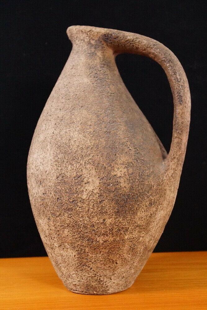Keramikvase bodenvase Vase rauhe glasur danish design midcentury 60er 70er jahre 0