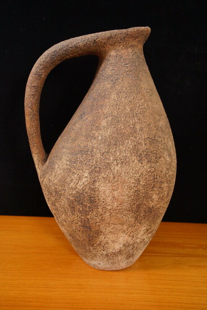 Keramikvase bodenvase Vase rauhe glasur danish design midcentury 60er 70er jahre 2