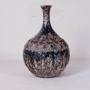 Keramikvase TERRAFORM Keramik Vase Tischvase Einzelstück 50er 60er Jahre