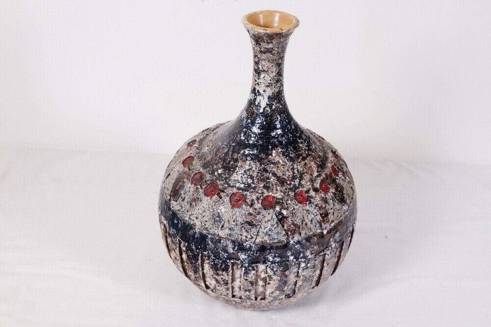 Terraform keramikvase keramik vase tischvase einzelstück 50er 60er jahre 2