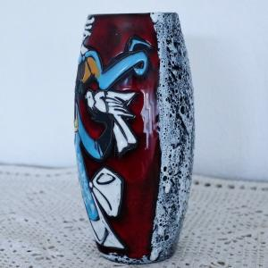 Tischvase vase fat lava