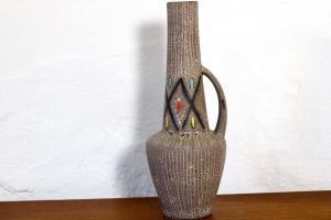 278 35 SCHEURICH Vintage Keramikvase Blumenvase Tischvase Amphore 50er 60er