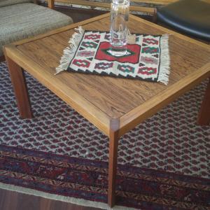 Midcentury Rosewood Teak Couchtisch Beistelltisch Coffeetable DANISH DESIGN 60er