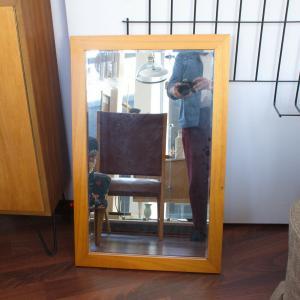 Midcentury wandspiegel spiegel garderobenspiegel danish design denmark 60er