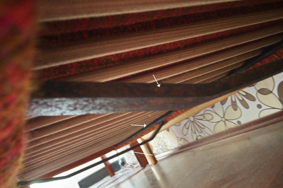 Midcentury Garnitur Sofa & 2 Sessel COUCHGARNITUR Eiche Danish Design 60er Jahre 7