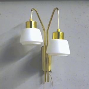 Lampe Wandlampe mit hängenden Leuchtstellen Designleuchte ROCKABILLY 50er 60er