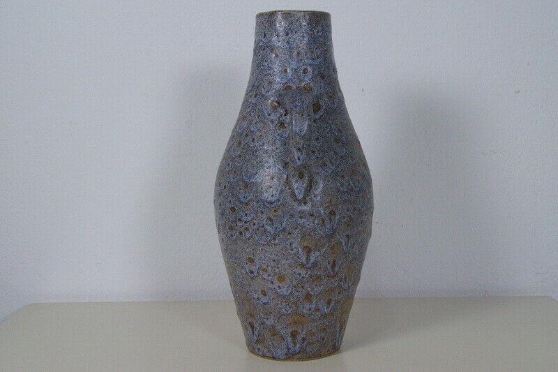 Vintage Vase Keramik Krug Kunsttöpferei Unterfang KTU Fat Lava 60er Jahre 2