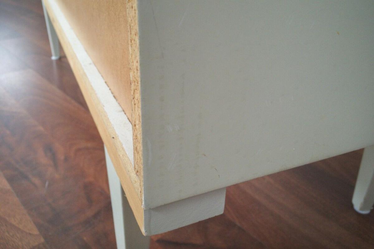 Pop art kommode 6 schubladen weiss grün sideboard lowboard 60er 70er jahre 11