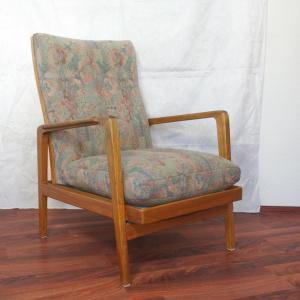 Midcentury Loungechair Ruhesessel von KNOLL ANTIMOTT Kirschholz Sessel 50er 60er