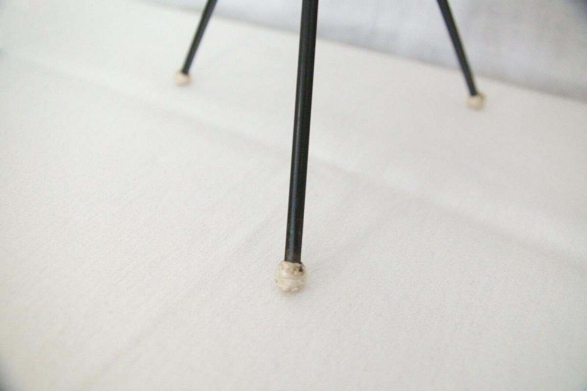 Vintage Standascher Aschenbecher Ash Tray im String Stil Kupfer 50er 60er Jahre 10