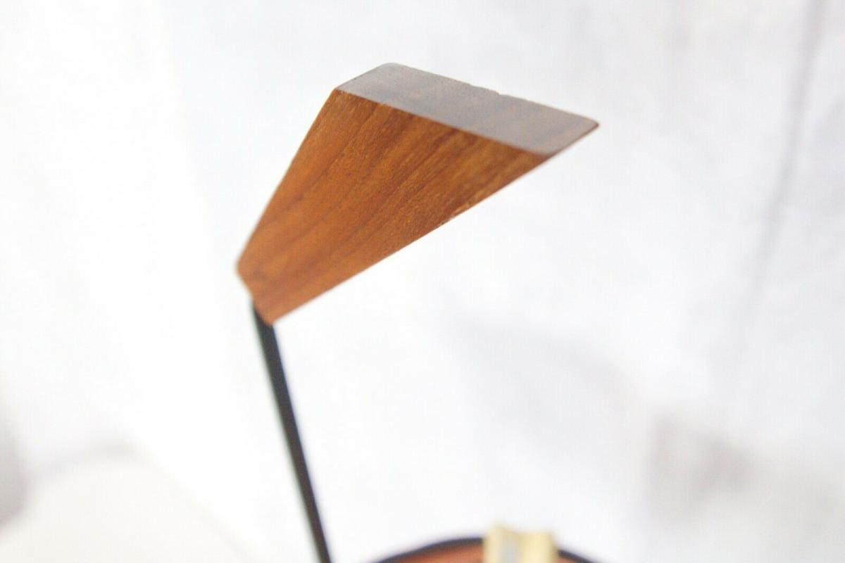 Vintage Standascher Aschenbecher Ash Tray im String Stil Kupfer 50er 60er Jahre 8