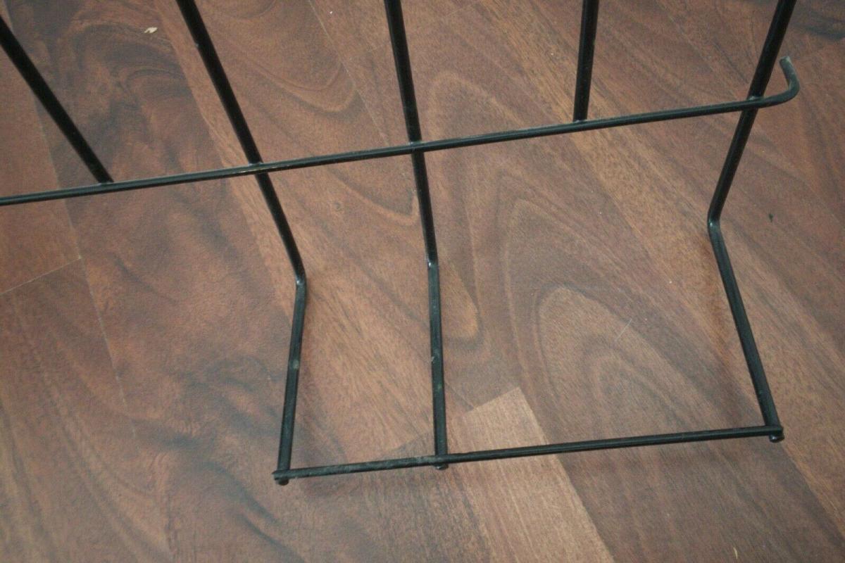 Schöne Garderobe Wandgarderobe im String Stil schwarz Midcentury 60er Jahre 6