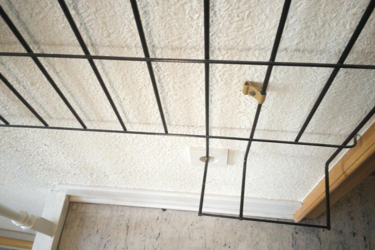 Schöne Garderobe Wandgarderobe im String Stil schwarz Midcentury 60er Jahre 9