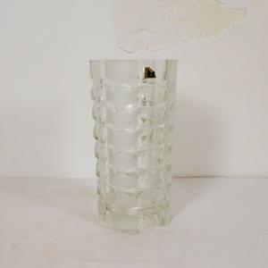 Driburg kristall kristallvase kristallglas vase 60er 70er jahre space age ära
