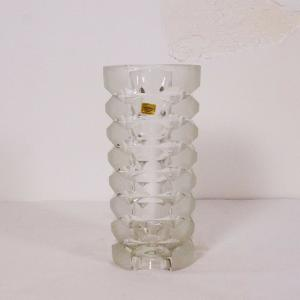 Luminarc france kristallvase kristallglas vase 60er 70er jahre space age ära