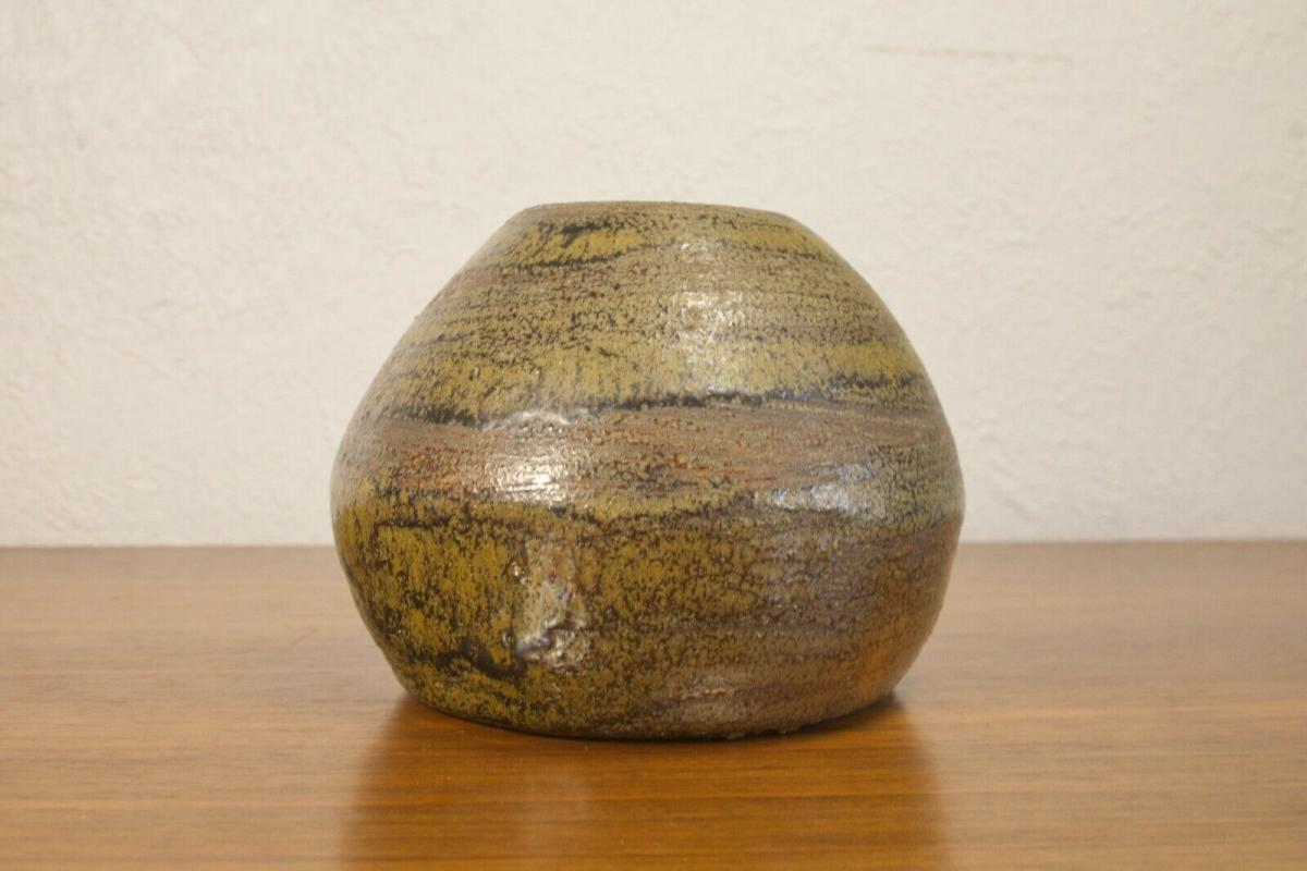 Danish modern design vase aus keramik skandinavien keramikvase tischvase 60er BS 0