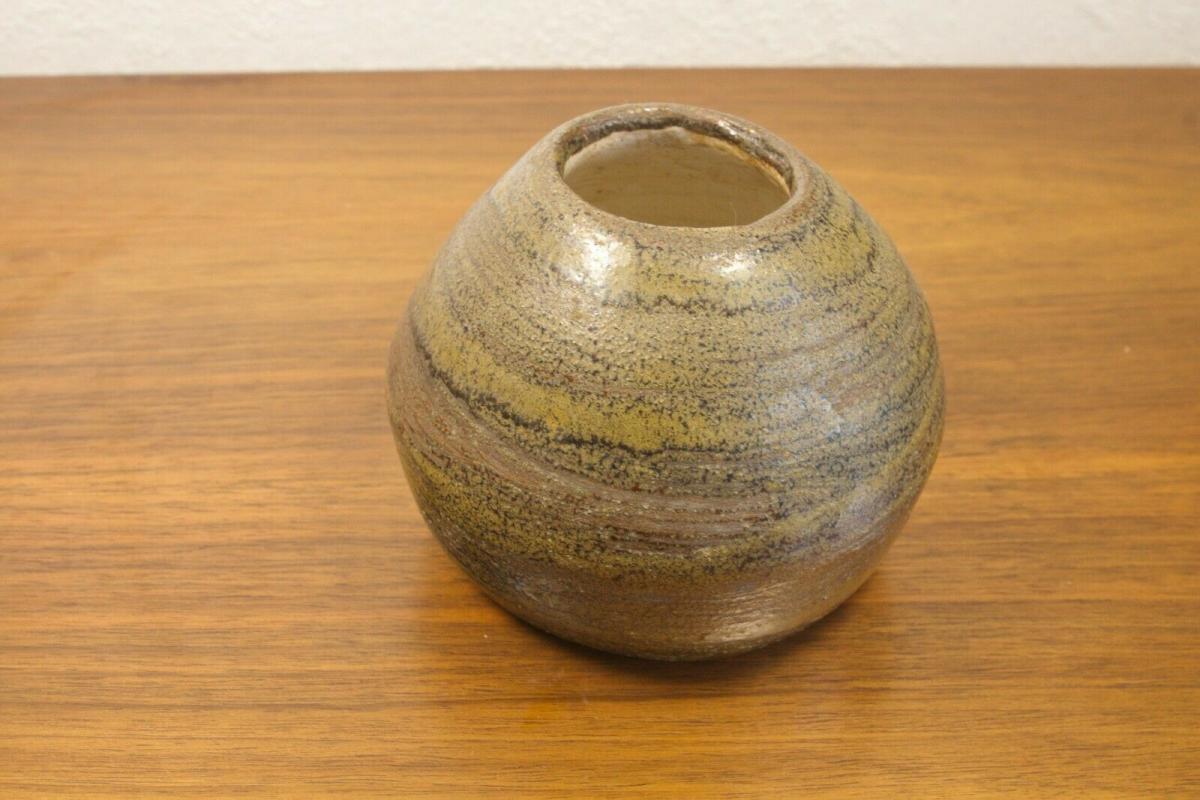 Danish modern design vase aus keramik skandinavien keramikvase tischvase 60er BS 2