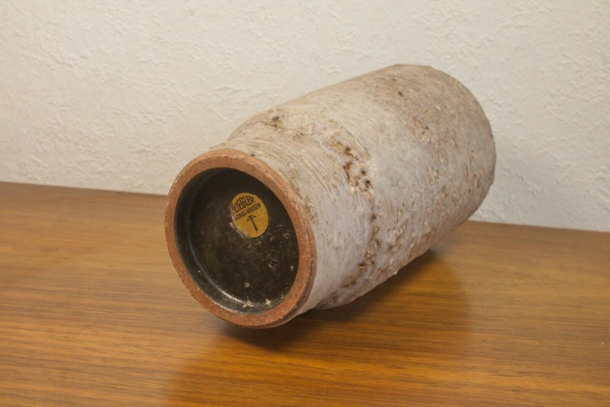 Ziegler schweiz 0502 designvase tischvase blumenvase 60er jahre vase formschön 3